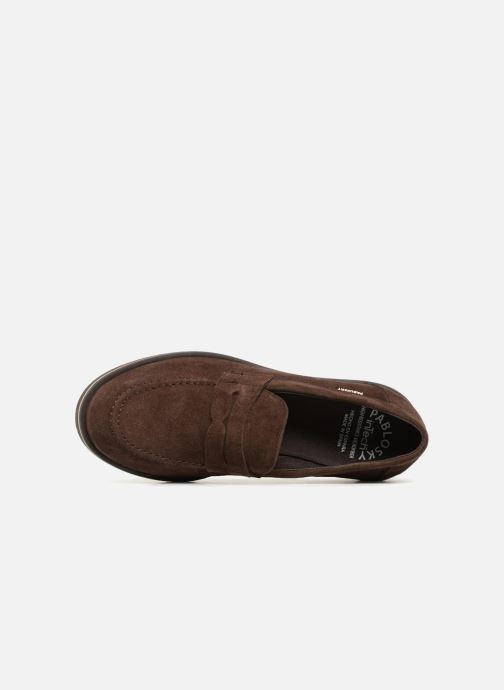 Loafers Pablosky Anielo Brown view from the left