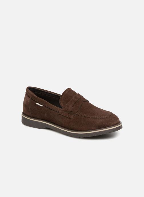 Loafers Pablosky Anielo Brown detailed view/ Pair view
