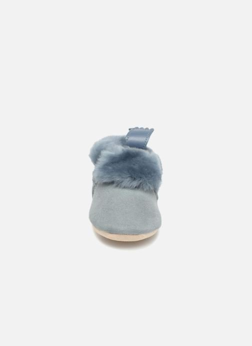 Slippers Easy Peasy Minion Blue model view
