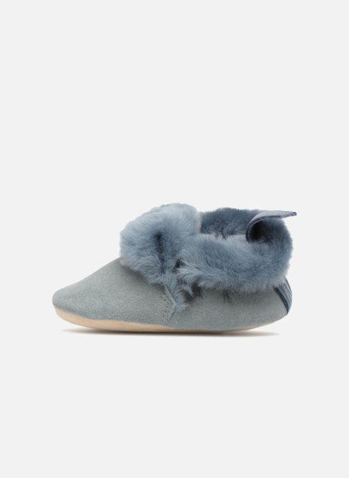 Slippers Easy Peasy Minion Blue front view