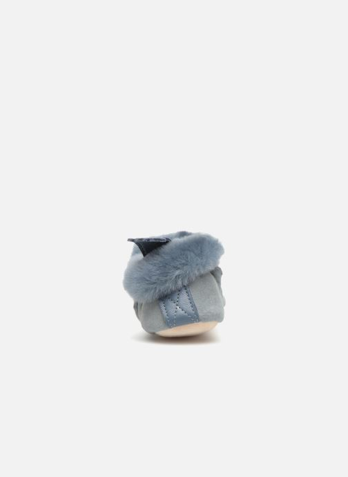 Slippers Easy Peasy Minion Blue view from the right