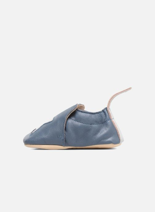 Chaussons Easy Peasy Blumoo Etoile Bleu vue face