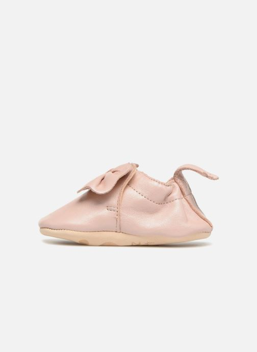 Chaussons Easy Peasy Blumoo Nœud Rose vue face