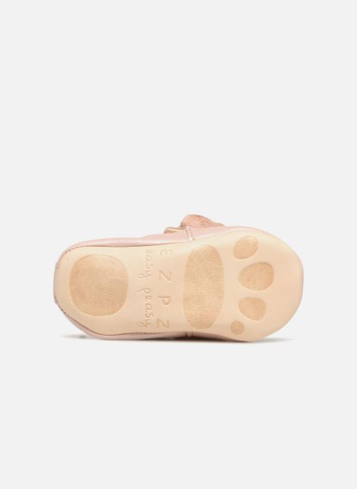 Slippers Easy Peasy Blumoo Nœud Pink view from above