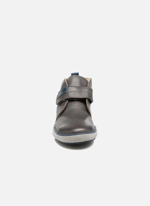 Chaussures à scratch Naturino Naturino 5210 VL Gris vue portées chaussures