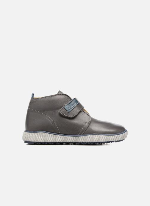 Chaussures à scratch Naturino Naturino 5210 VL Gris vue derrière