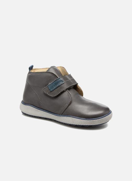 Chaussures à scratch Naturino Naturino 5210 VL Gris vue détail/paire