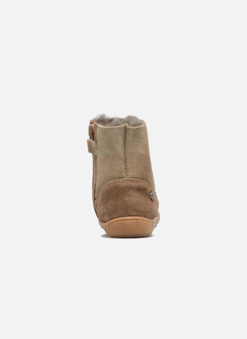 Boots en enkellaarsjes Naturino Cotton Blauw rechts