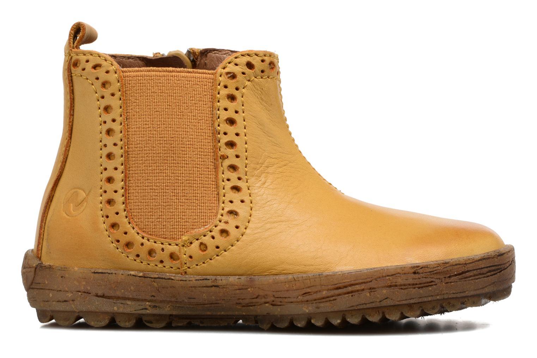 Boots en enkellaarsjes Naturino Storm Geel achterkant