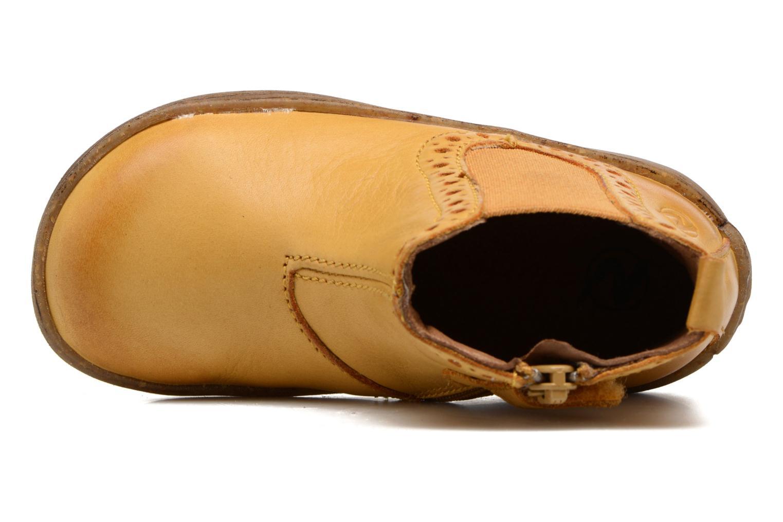 Boots en enkellaarsjes Naturino Storm Geel links