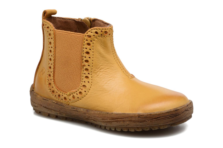 Boots en enkellaarsjes Naturino Storm Geel detail