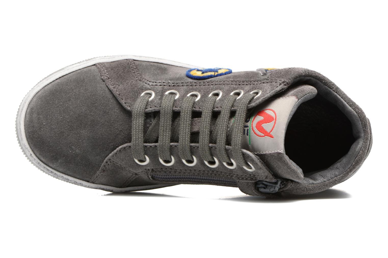 Sneakers Naturino Ground Grijs links