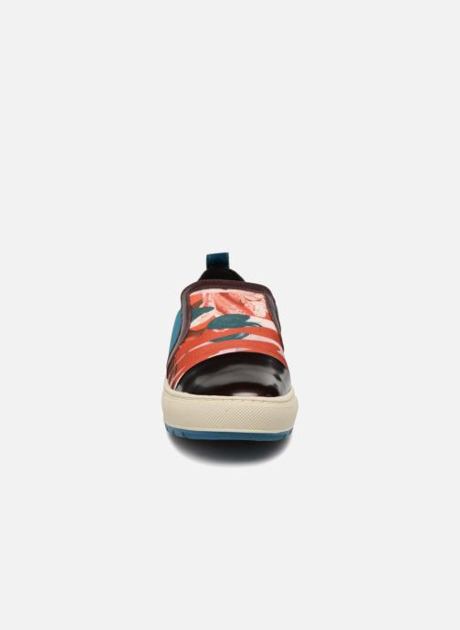 Baskets Geox D Breeda A D642QA Marron vue portées chaussures