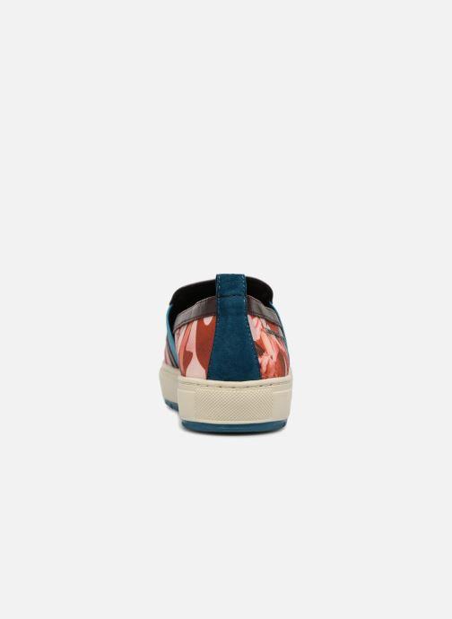 Baskets Geox D Breeda A D642QA Marron vue droite
