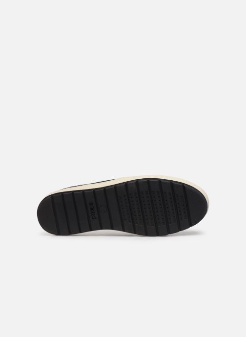 Sneakers Geox D Breeda A D642QA Bordò immagine dall'alto