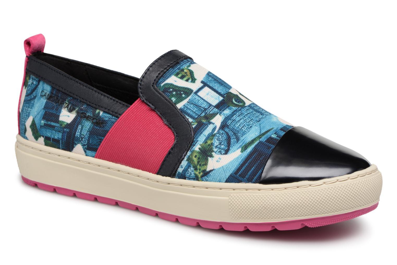 Geox D Breeda A D642QA (Bleu) - Baskets en Más cómodo Dernières chaussures discount pour hommes et femmes