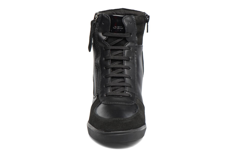 Baskets Geox D Eleni A D7467A Noir vue portées chaussures