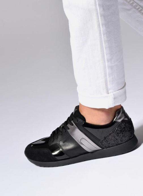 Sneakers Geox D Deynna D D746FD Grigio immagine dal basso