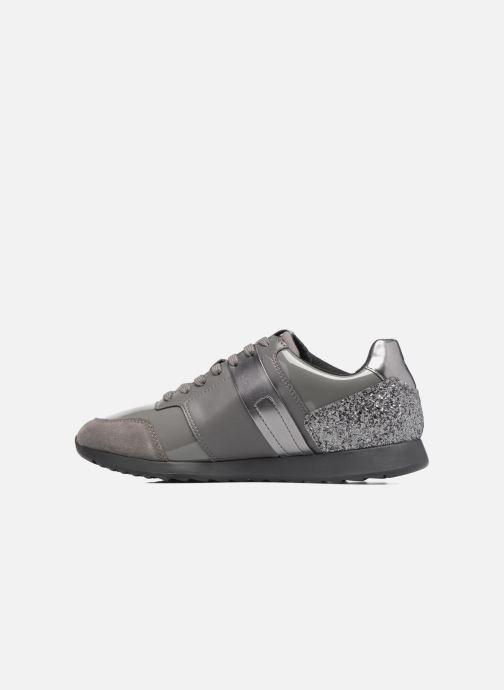 Sneakers Geox D Deynna D D746FD Grigio immagine frontale