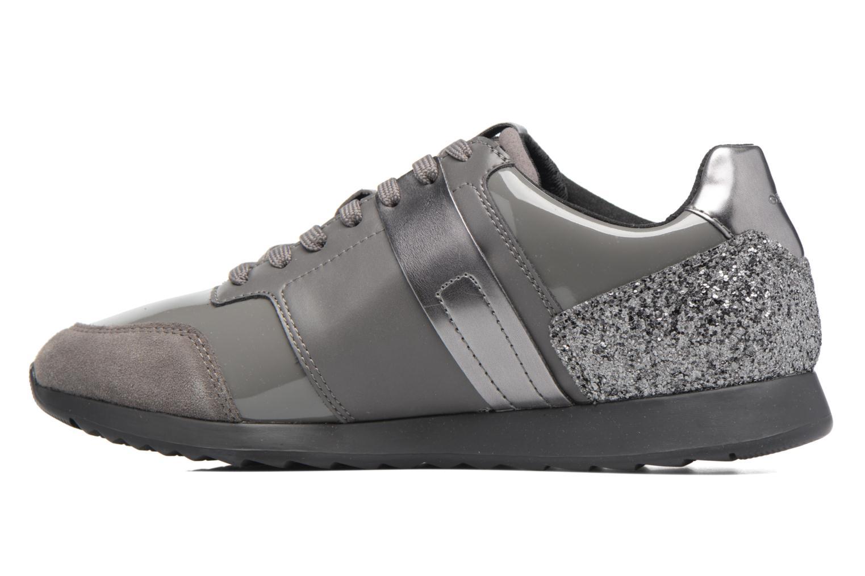 Sneakers Geox D Deynna D D746FD Grijs voorkant