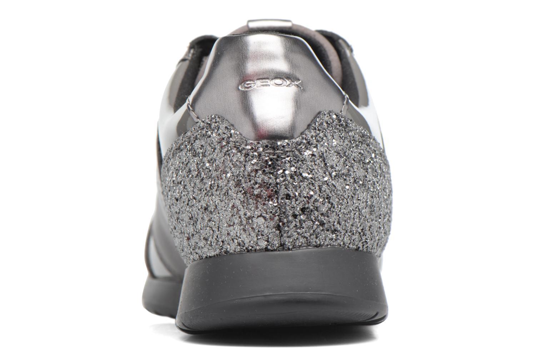 Sneakers Geox D Deynna D D746FD Grijs rechts