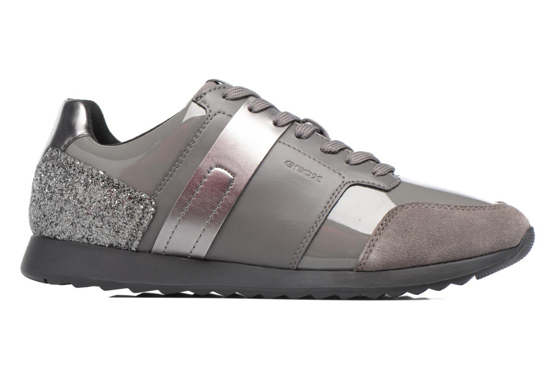 Sneakers Geox D Deynna D D746FD Grijs achterkant
