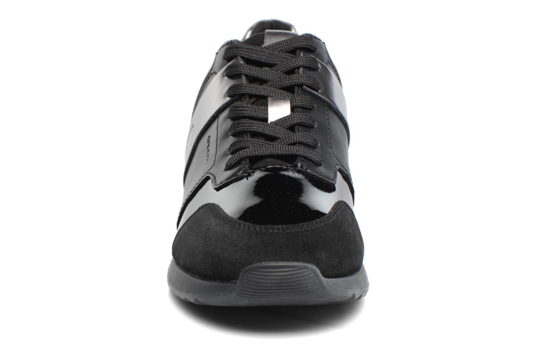 Baskets Geox D Deynna D D746FD Noir vue portées chaussures