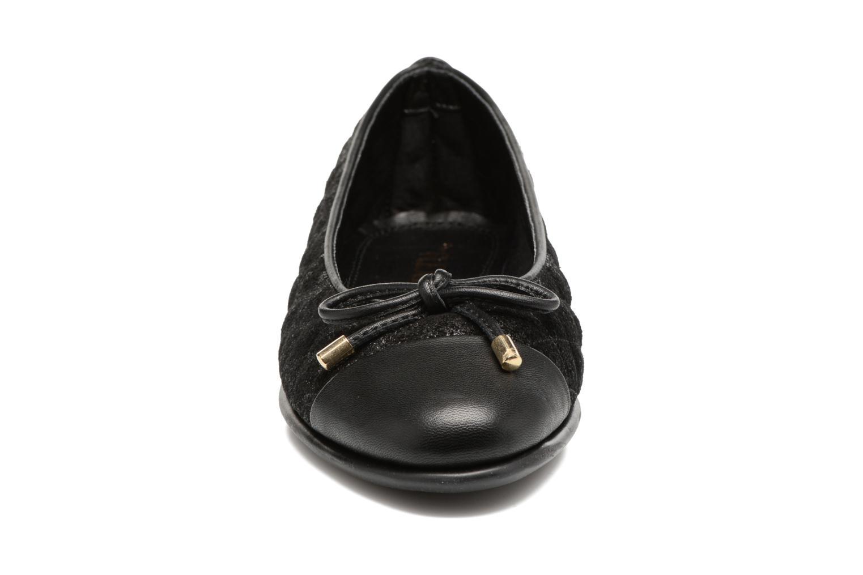 Ballerines The Flexx Riseco Noir vue portées chaussures