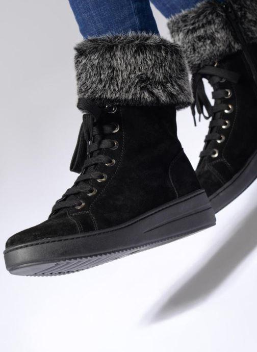 Bottines et boots The Flexx Cuff It Up Noir vue bas / vue portée sac