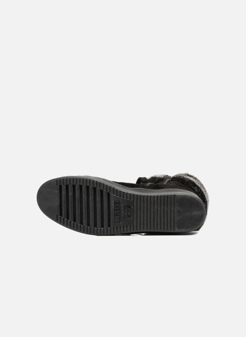 Boots en enkellaarsjes The Flexx Cuff It Up Zwart boven