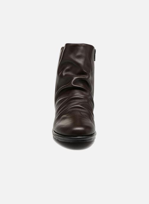 Bottines et boots The Flexx Pan Fried Marron vue portées chaussures