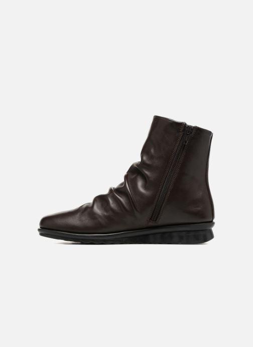 Boots en enkellaarsjes The Flexx Pan Fried Bruin voorkant