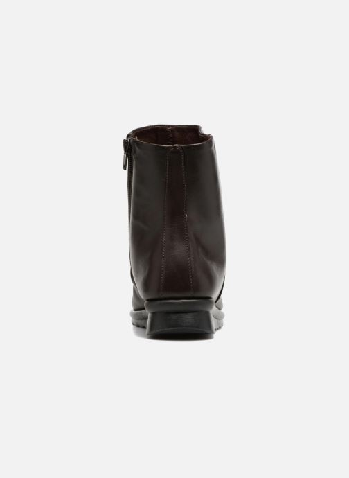 Bottines et boots The Flexx Pan Fried Marron vue droite