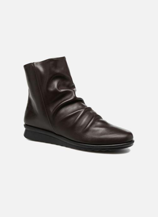 Bottines et boots The Flexx Pan Fried Marron vue détail/paire