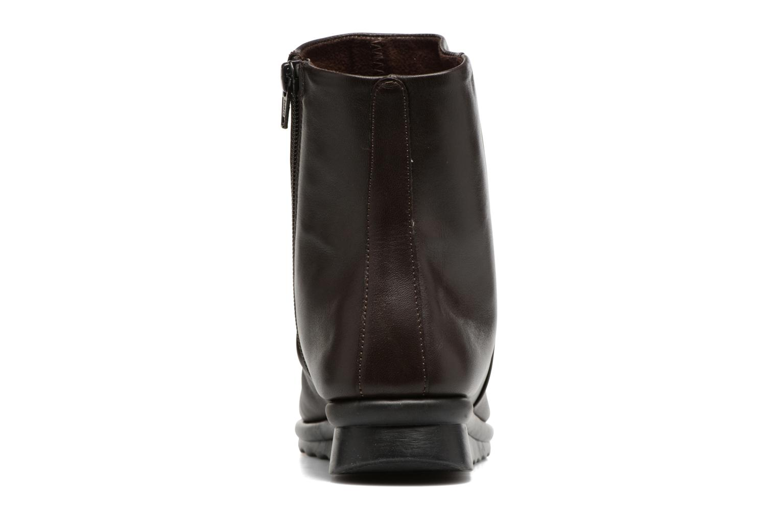Ankle boots The Flexx Pan Fried Brown view from the right