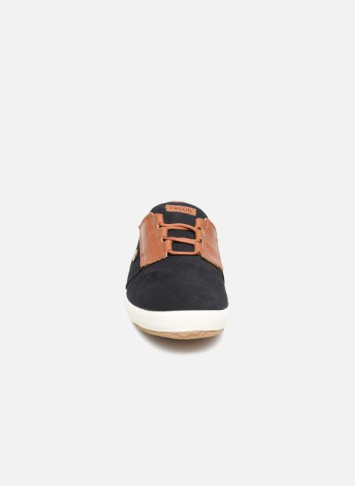 Baskets Faguo CYPRESS23 Bleu vue portées chaussures