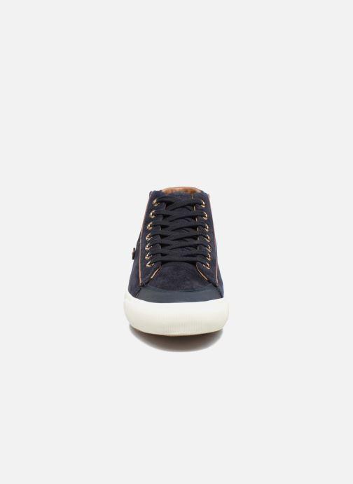 Baskets Faguo BIRCHMID02 Bleu vue portées chaussures