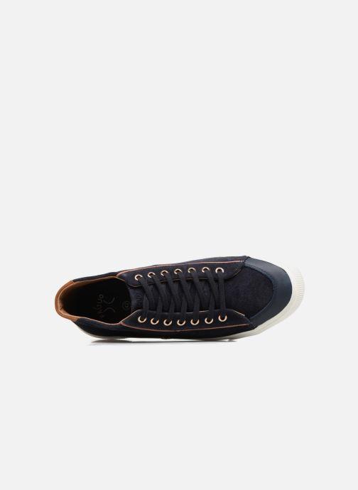 Sneaker Faguo BIRCHMID02 blau ansicht von links