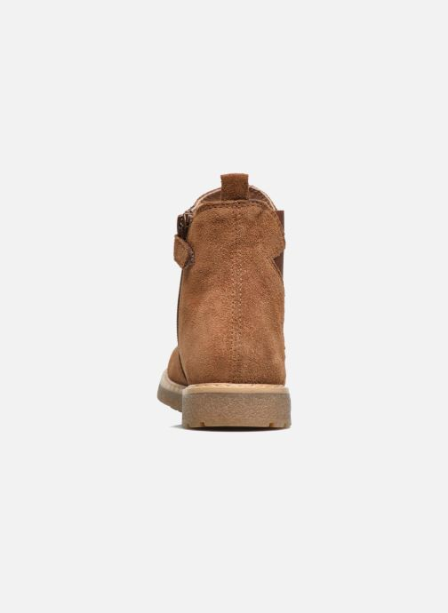 Ankle boots Unisa Nevada Brown view from the right