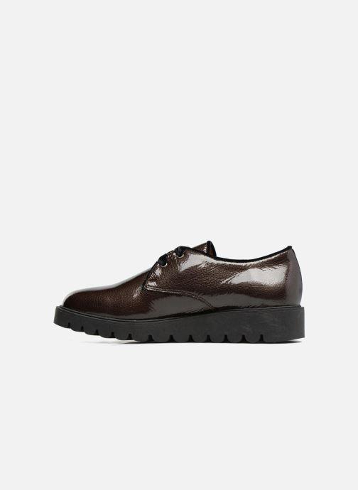 Zapatos con cordones Unisa Mick Gris vista de frente