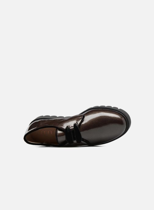 Zapatos con cordones Unisa Mick Gris vista lateral izquierda