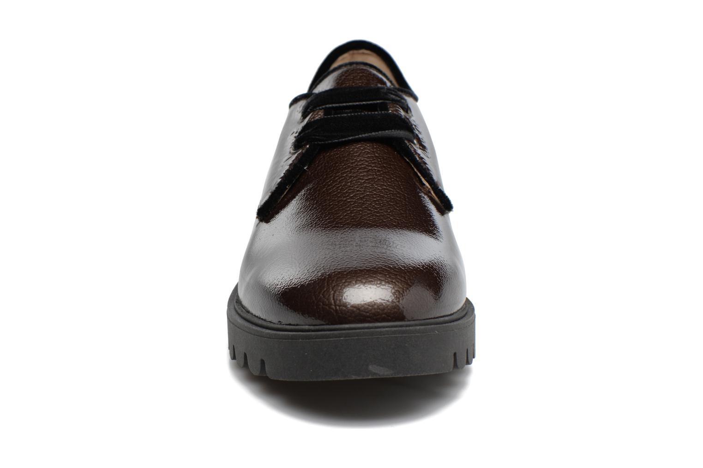 Chaussures à lacets Unisa Mick Gris vue portées chaussures