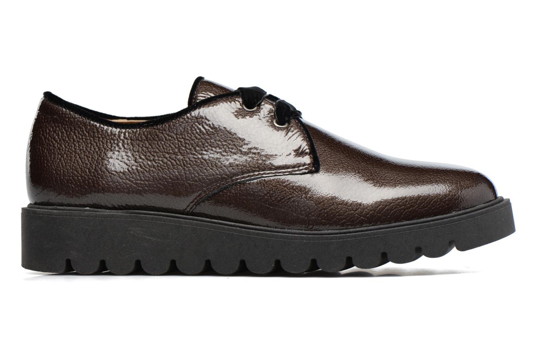 Chaussures à lacets Unisa Mick Gris vue derrière