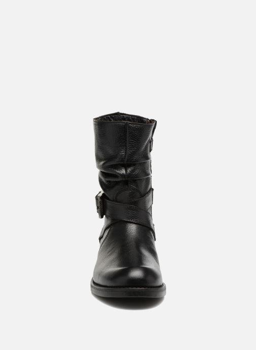 Bottes Unisa Gador Noir vue portées chaussures
