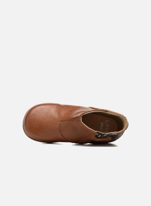Stiefeletten & Boots Little Mary Clotilde braun ansicht von links