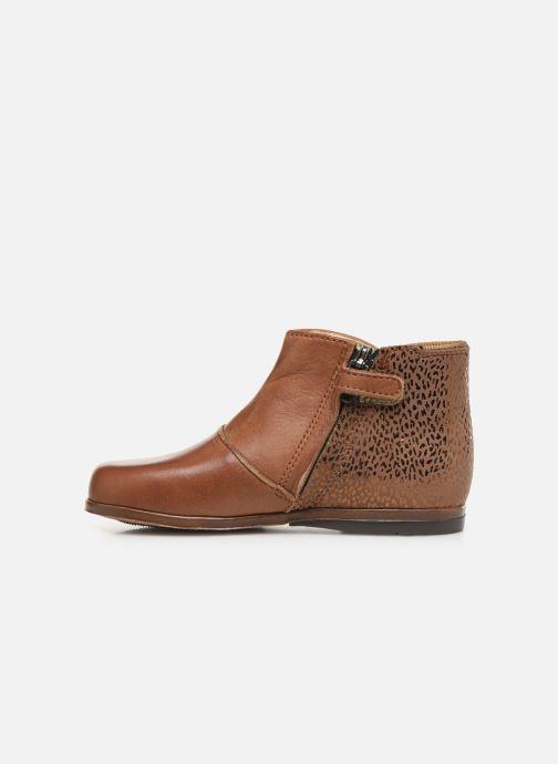 Bottines et boots Little Mary Clotilde Marron vue face