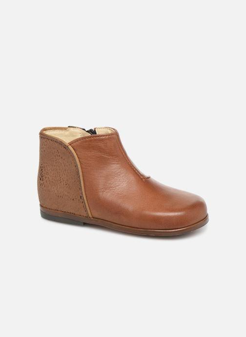 Bottines et boots Little Mary Clotilde Marron vue détail/paire
