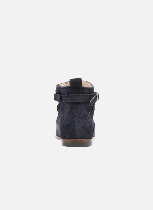 Bottines et boots Little Mary Amillle Bleu vue droite