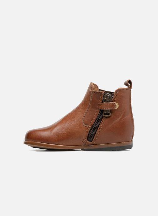 Bottines et boots Little Mary Aron Marron vue face