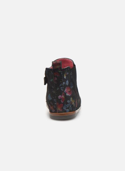 Bottines et boots Little Mary Aron Noir vue droite